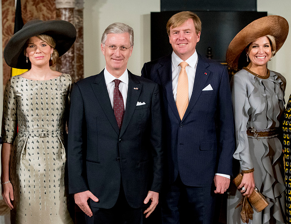 Belgium「Queen Mathilde of Belgium and King Philippe of Belgium On A 3 Day Official Visit In Holland : Day One」:写真・画像(15)[壁紙.com]