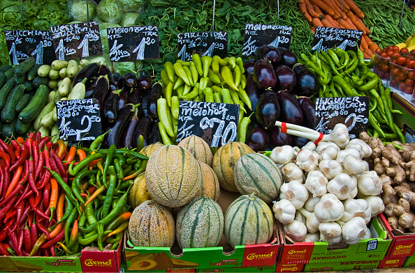 メロン「Vienna; Naschmarkt; Delivery Of A Vegetable Matter」:写真・画像(19)[壁紙.com]