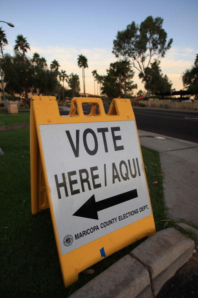 USA「Americans Go To The Polls To Elect The Next U.S. President」:写真・画像(7)[壁紙.com]