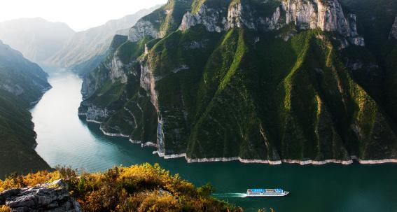 Steep「Scenery of Three Gorges」:スマホ壁紙(17)