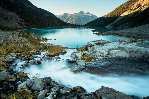 Pemberton「Scenery of Joffre Lake, Duffy Lake Provincial Park, Pemberton, British Columbia, Canada」:スマホ壁紙(11)