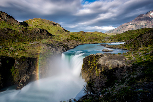 Waterfall「Scenery of waterfall, Patagonia」:スマホ壁紙(18)