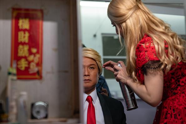 Feng Shui「Donald Trump and Mao Zedong Impersonators Meet In Hong Kong」:写真・画像(10)[壁紙.com]