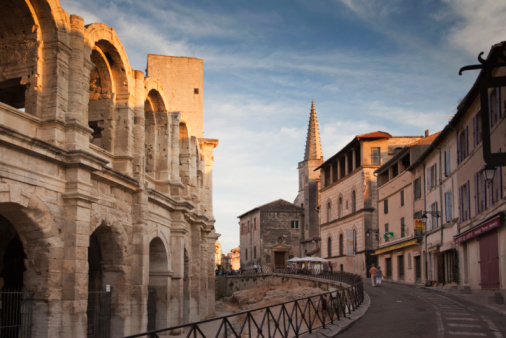 France「The roman amphitheatre of Arles」:スマホ壁紙(12)
