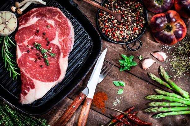 Cooking beef steak fillet:スマホ壁紙(壁紙.com)