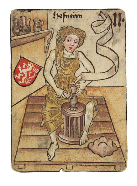 Pottery「A Potter The Ambras Castle Hofaemterspiel Court-Office Game」:写真・画像(15)[壁紙.com]