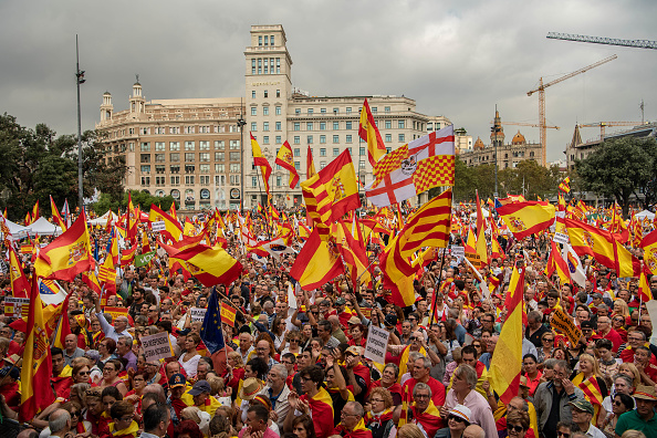 David Ramos「A Unionist March Takes Place On The National Day of Spain」:写真・画像(5)[壁紙.com]