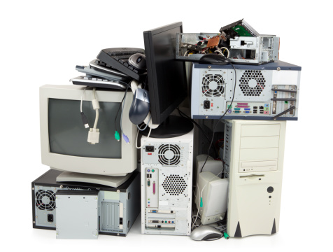 Electrical Equipment「Obsolete computer electronics equipment for recycling」:スマホ壁紙(0)