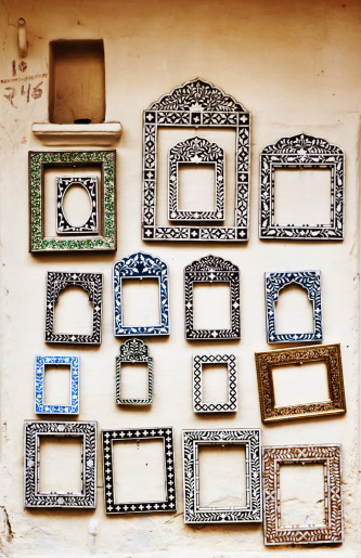 Indian Culture「Indian Picture Frames」:スマホ壁紙(14)