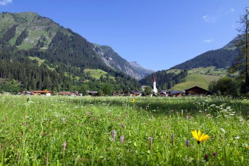 Lech Valley「Typical Austrian Village」:スマホ壁紙(2)