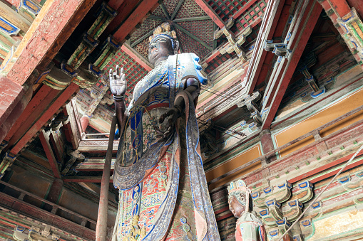Buddha statue「Dule Temple,Tianjin,China」:スマホ壁紙(3)