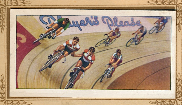 Cigarette Card「Six-Day Racing」:写真・画像(8)[壁紙.com]