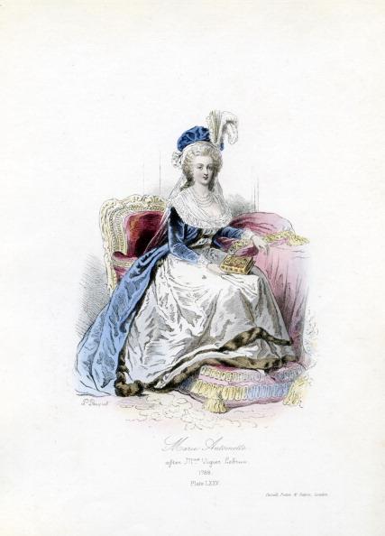 Engraving「Marie Antoinette, 1788」:写真・画像(4)[壁紙.com]