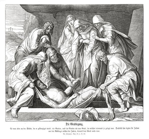 Place of Burial「Burial of Jesus」:写真・画像(1)[壁紙.com]