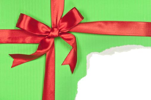 Empty Box「Torn Green Gift Box」:スマホ壁紙(19)