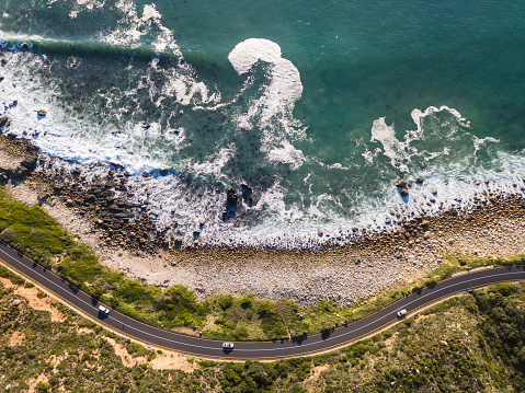 South Africa「Winding coastal road, Cape Town」:スマホ壁紙(6)