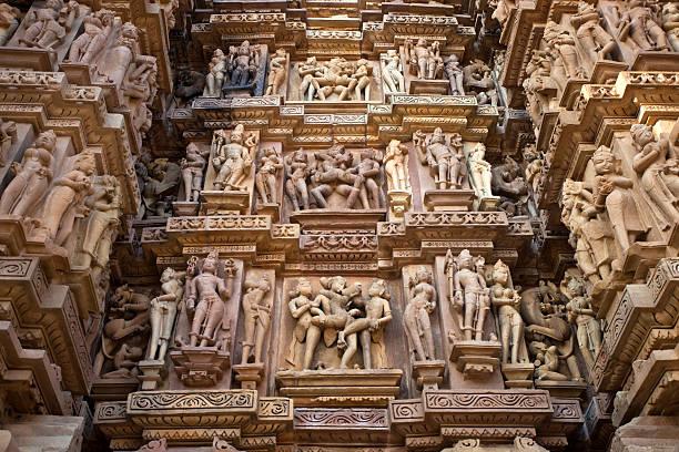 Khajuraho, India Temple:スマホ壁紙(壁紙.com)