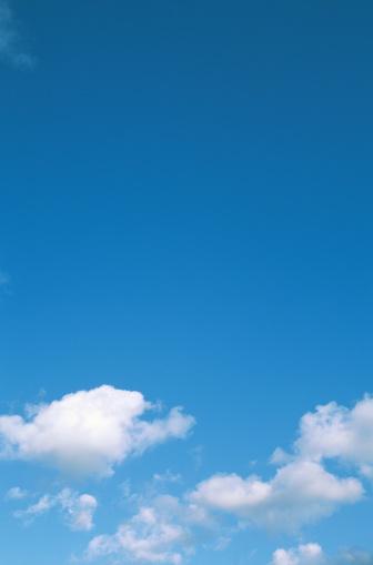 Sky Only「Clouds in blue sky」:スマホ壁紙(9)
