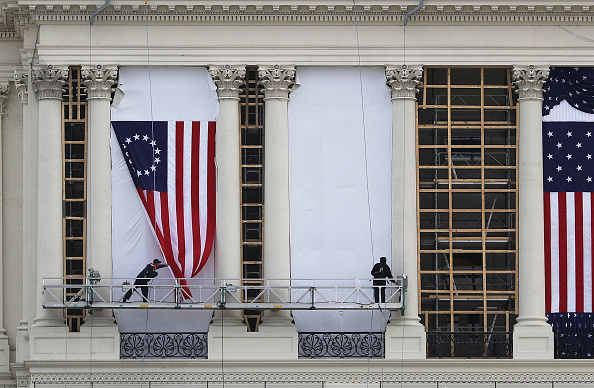 Presidential Inauguration「Washington DC Prepares For Presidential Inauguration」:写真・画像(12)[壁紙.com]