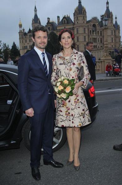 Foliate Pattern「Danish Crown Prince Couple Visit Germany」:写真・画像(19)[壁紙.com]