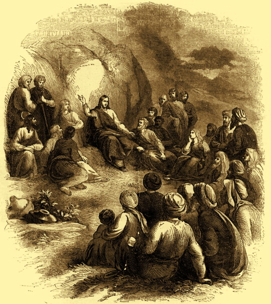 Preacher「Christ delivering his sermon on the mount」:写真・画像(17)[壁紙.com]