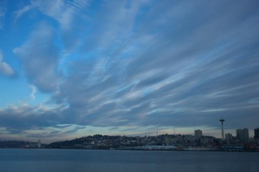 雲「Seattle」:スマホ壁紙(11)