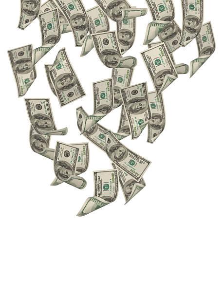 Falling Dollars:スマホ壁紙(壁紙.com)