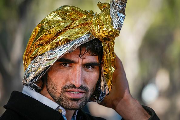 Christopher Furlong「Migrants Land On Lesbos」:写真・画像(11)[壁紙.com]