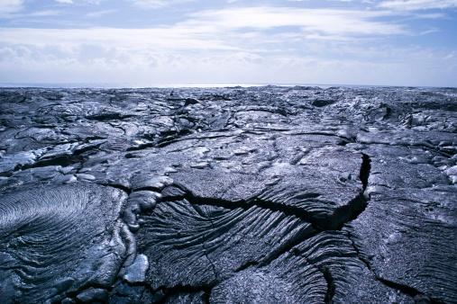 Active Volcano「Vast lava bed in Hawaii」:スマホ壁紙(8)