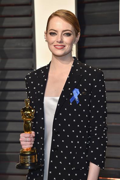 エマ・ストーン「2017 Vanity Fair Oscar Party Hosted By Graydon Carter - Arrivals」:写真・画像(12)[壁紙.com]