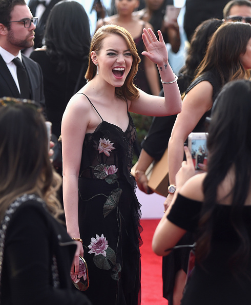 Waving - Gesture「The 23rd Annual Screen Actors Guild Awards - Red Carpet」:写真・画像(3)[壁紙.com]