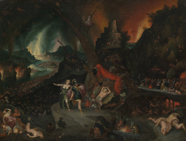 Hell「Aeneas And The Sibyl In The Underworld」:写真・画像(13)[壁紙.com]