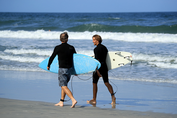 Jacksonville Beach「Jacksonville, Florida Re-Opens Beaches After Decrease In COVID-19 Cases」:写真・画像(19)[壁紙.com]