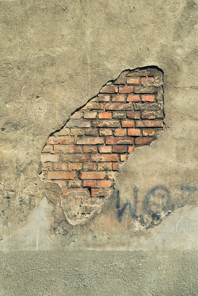 Townhouse「Crumbling render on a townhouse, Gdansk, Poland」:写真・画像(11)[壁紙.com]