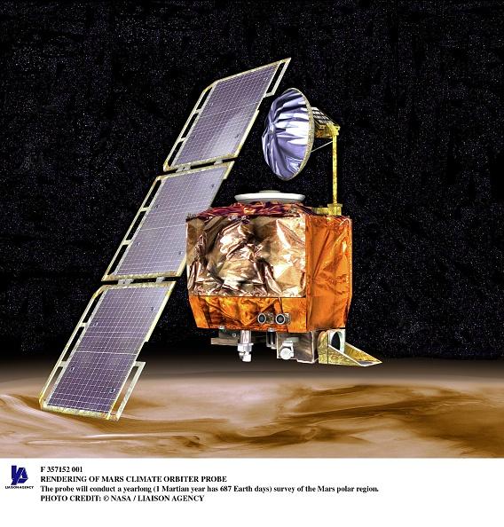 気候「Rendering Of Mars Climate Orbiter Probe The Probe Will Conduct A Yearlong (1 Martian Ye」:写真・画像(12)[壁紙.com]