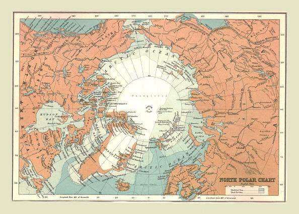 Arctic Ocean「North Polar Chart」:写真・画像(5)[壁紙.com]