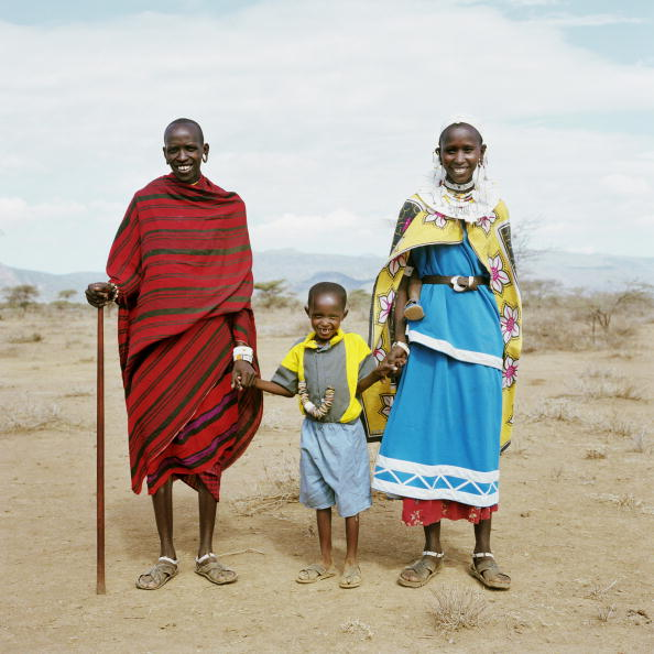 Front View「The Maasai And The Tanzanian Drought」:写真・画像(3)[壁紙.com]