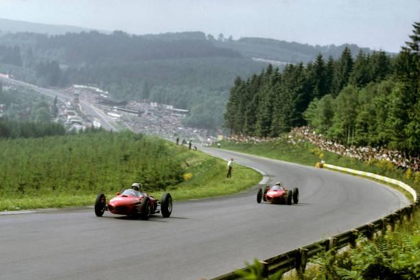 Belgium「Phil Hill, Ricardo Rodriguez, Grand Prix Of Belgium」:写真・画像(18)[壁紙.com]