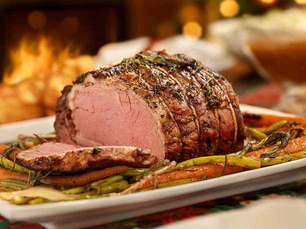 Christmas Roast Beef Dinner:スマホ壁紙(壁紙.com)