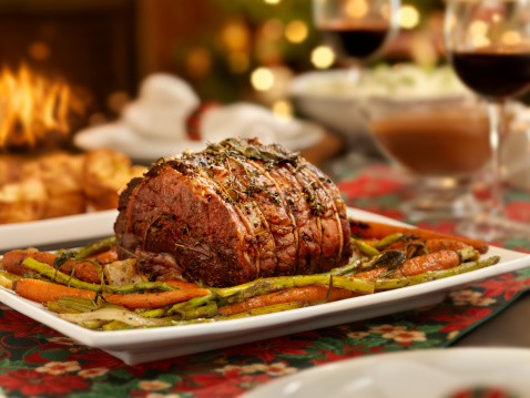 Roasted「Christmas Roast Beef Dinner」:スマホ壁紙(2)