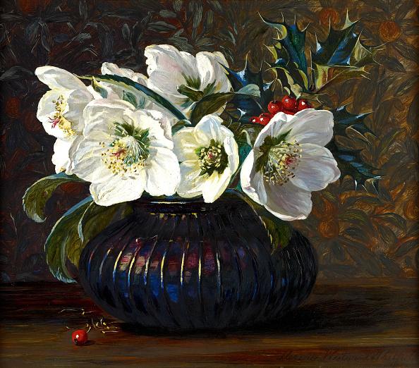 Bouquet「Christmas Roses」:写真・画像(8)[壁紙.com]