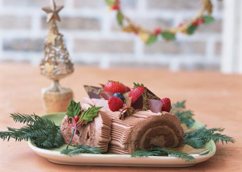 Annual Event「Christmas rolled cake」:スマホ壁紙(12)