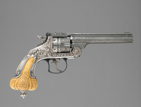 Model - Object「Smith & Wesson .44 Double-Action Frontier Model Revolver Decorated By Tiffany & Co」:写真・画像(18)[壁紙.com]