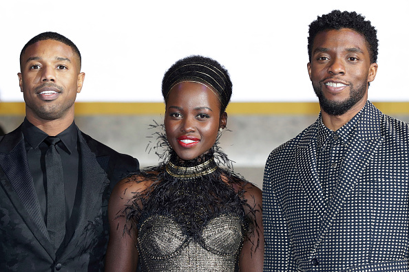 映画界「'Black Panther' Seoul Premiere - Red Carpet」:写真・画像(7)[壁紙.com]