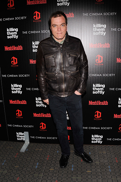 """Leather Jacket「The Cinema Society With Men's Health And DeLeon Host A Screening Of The Weinstein Company's """"Killing Them Softly"""" - Arrivals」:写真・画像(19)[壁紙.com]"""