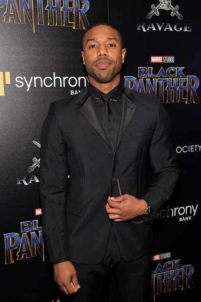 "Black Color「The Cinema Society Hosts A Screening Of Marvel Studios' ""Black Panther""」:写真・画像(11)[壁紙.com]"