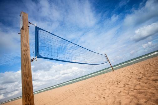 Miami Beach「バレーボールネットにはフォートローダーデールのビーチ」:スマホ壁紙(19)