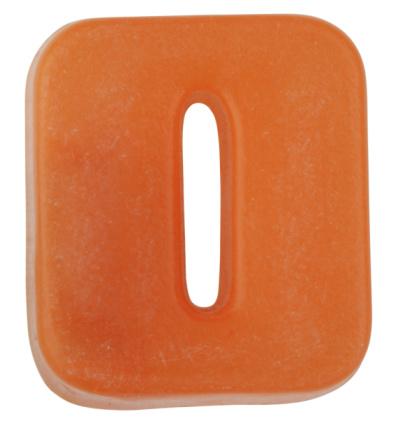 Zero「Orange plastic letter O」:スマホ壁紙(4)