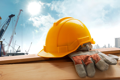 Hardhat「Helmet placed on the tool after work」:スマホ壁紙(11)