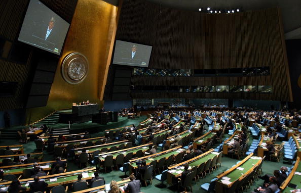 United Nations Building「World Leaders Converge At 62nd U.N. General Assembly」:写真・画像(8)[壁紙.com]